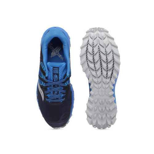 saucony Men Blue PEREGRINE ISO Running Shoes