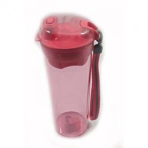 Tupperware Flamingo Sports Fliptop Water Bottle with Free Cotton Handkerchief