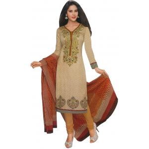 Shree Ganesh Cotton Printed Salwar Suit Dupatta Material