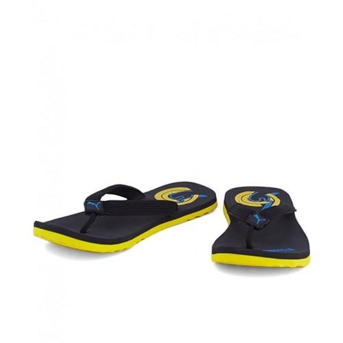 3a6f8b78d Buy Puma Wave Dp Black Flip Flops online
