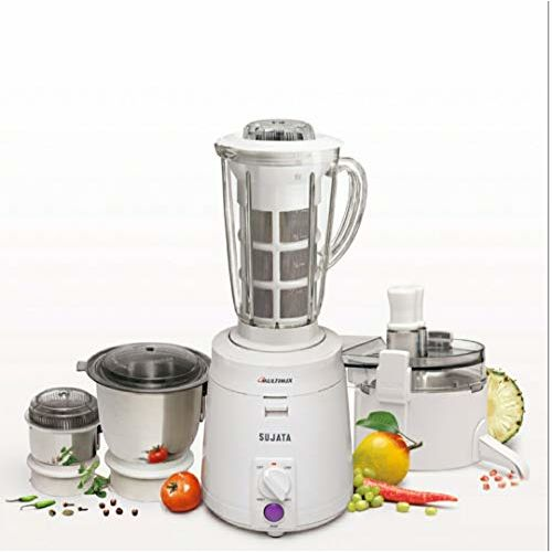 Sujata Multimix 900 Watt All in one Juicer Mixer Grinder,Coconut Milk Extractor