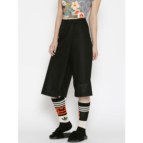 ADIDAS Originals Black Layered Skorts