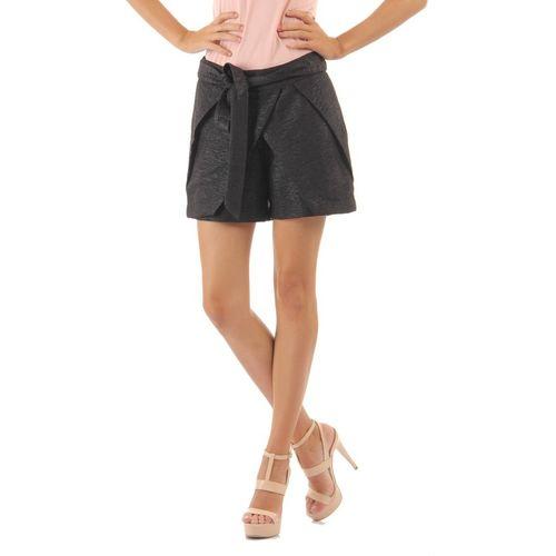 Vero Moda Solid Women Black Skort