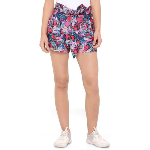 Smarty Pants Floral Print Women Multicolor Skort