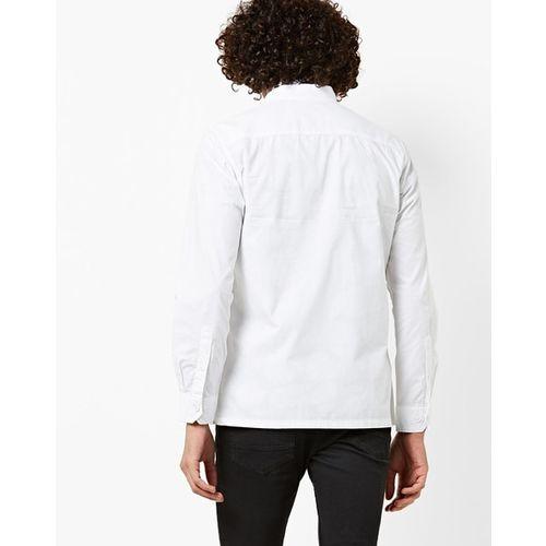 AJIO Slim Fit Zip-Front Shacket