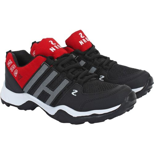 Aero Go Run Running Shoes For Men(Red, Black)