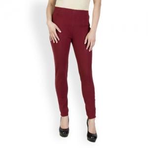 f0c1e8d18664a Buy W Women Sea Green Churidar Leggings online | Looksgud.in