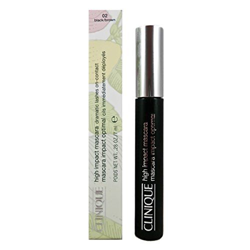Clinique High Impact Mascara Dramatic Lashes On Contact 02 Black Brown