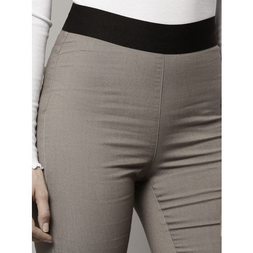 Marks & Spencer Grey Solid Jeggings