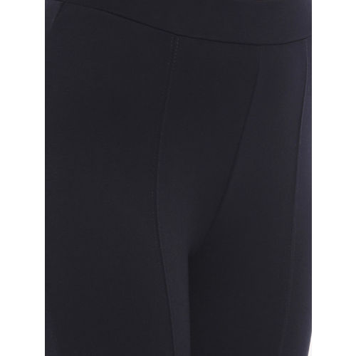 CODE by Lifestyle Women Navy Blue Solid Jeggings