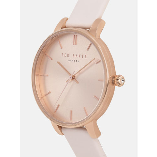 Ted Baker Women Rose Gold Analogue Watch TE15162007