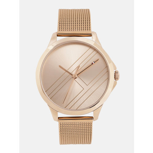 Tommy Hilfiger Women Gold-Toned Analogue Watch TH1781963W