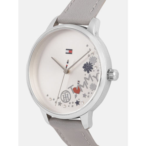 Tommy Hilfiger Women Silver-Toned Embellished Analogue Watch TH1781984W