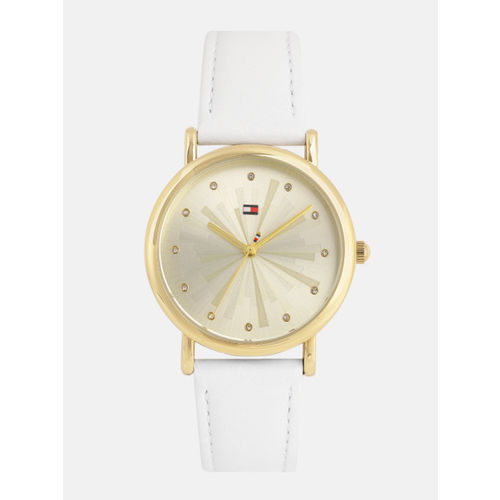 Tommy Hilfiger Women Gold-Toned Analogue Watch TH1781941W