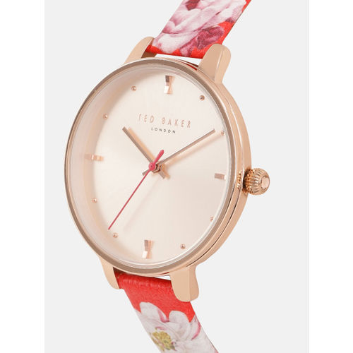 Ted Baker Women Rose Gold Analogue Watch TE50013017