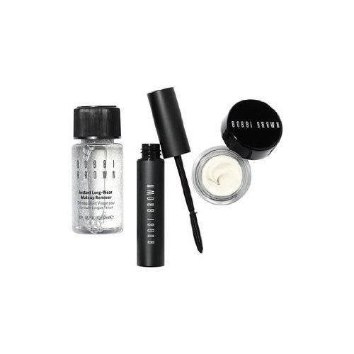 Bobbi Brown Lash Glamour Eye Set: includes Mascara, Hydrating Eye Cream, and Makeup Remover