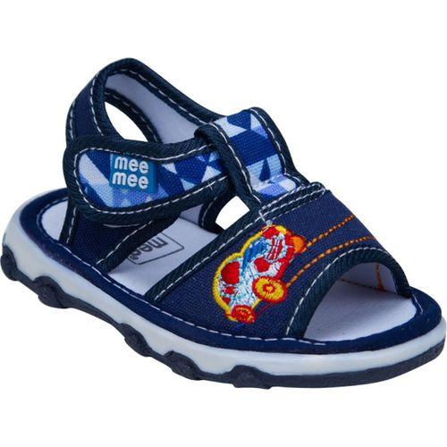 MeeMee Boys Velcro Flats(Blue)