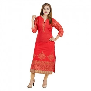 Zoeyam's Women's Cotton Kurta