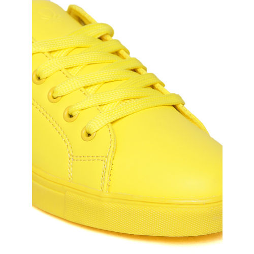 United Colors of Benetton Women Yellow Sneakers