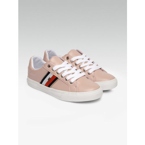 Tommy Hilfiger Women Pink Solid Sneakers