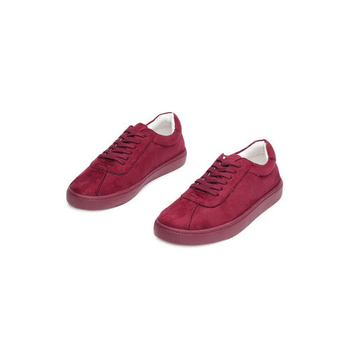 ether Women Maroon Sneakers