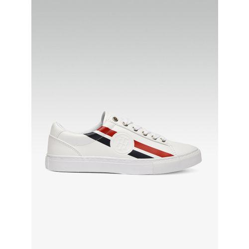 Tommy Hilfiger Women White Sneakers