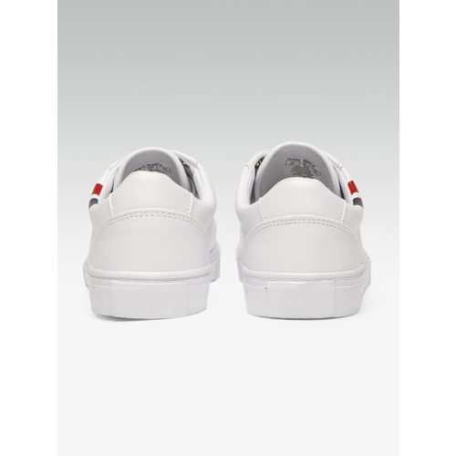 Tommy Hilfiger Women White Sneakers