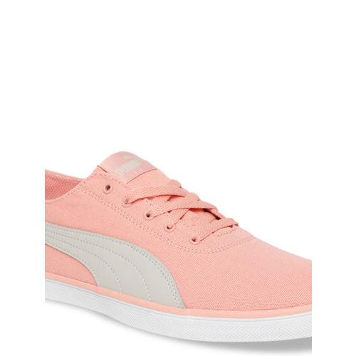 Puma Women Peach-Coloured Sneakers