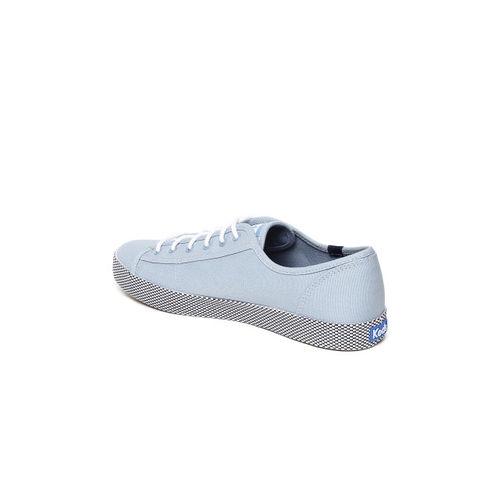 Keds Women Blue KICKSTART MESH FOXING Sneakers