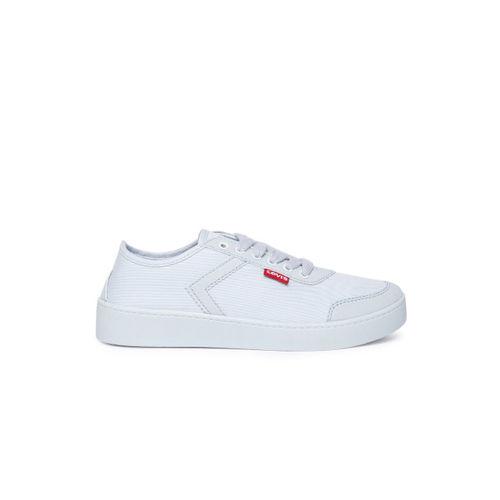 Levis Women Blue Solid Sneakers