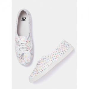 Kook N Keech Multicoloured Printed Sneakers