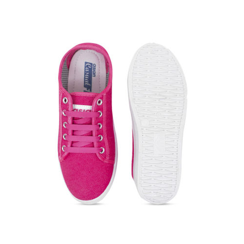 ASIAN Women Pink Solid Sneakers