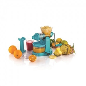 Capital Blue Plastic Kitchenware Classic Fruits & Vegetable Juicer With Steel Handle