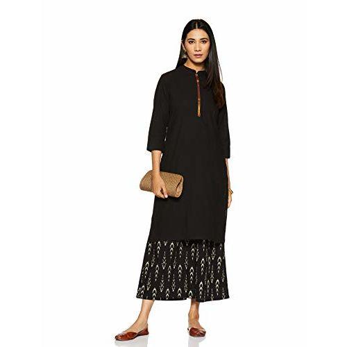 Amazon Brand - Myx Myx Women's Cotton Straight Kurta