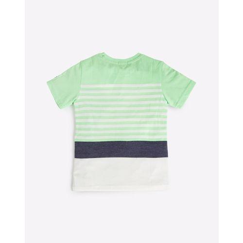 UNITED COLORS OF BENETTON Colourblock Crew-Neck T-shirt