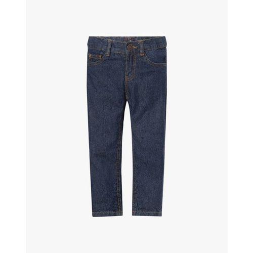 KB TEAM SPIRIT 5-Pocket Jeans with Contrast Stitch Detail