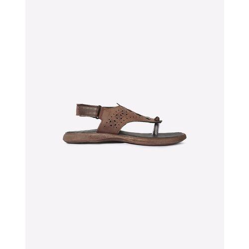 HI-ATTITUDE Slingback Cutout Sandals