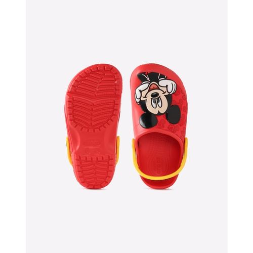 CROCS Micky Mouse Print Slingback Sandals