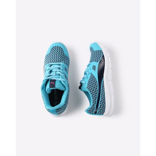 Puma Panelled Lace-Up Sports Shoes