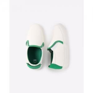 UNITED COLORS OF BENETTON Colourblock Slip-On Shoes