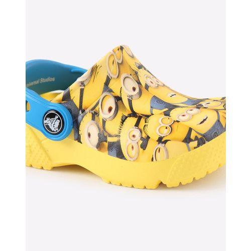 CROCS Minion Print Croslite Slip-On Shoes