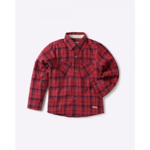 NAUTI NATI Checked Shirt with Patch Pockets