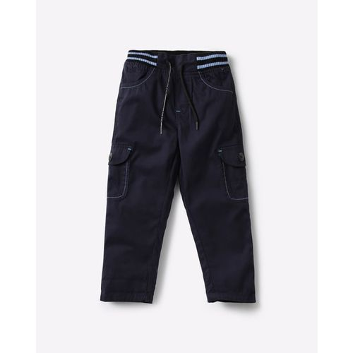 KB TEAM SPIRIT Cargo Trousers with Elasticated Waist