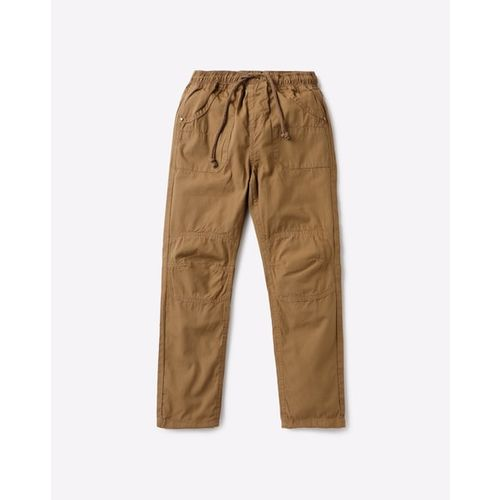 AJIO Panelled Trousers with Insert Pockets