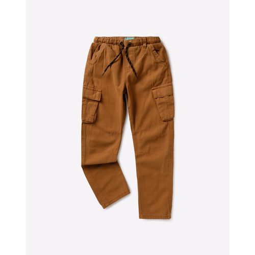 KB TEAM SPIRIT Mid-Rise Jogger Pants with Envelope Pockets