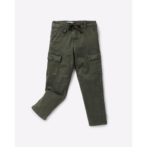 KB TEAM SPIRIT Cargo Pants with Drawstring Waist