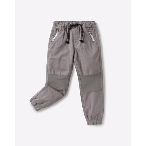 KB TEAM SPIRIT Panelled Jogger Pants with Zip Pockets