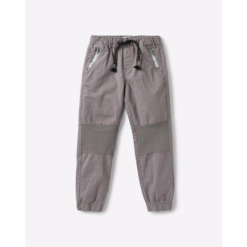 KB TEAM SPIRIT Panelled Jogger Pants with Zip Pockets