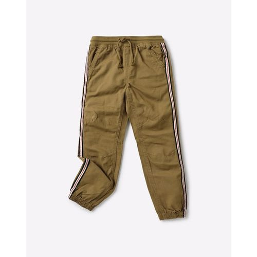 KB TEAM SPIRIT Mid-Rise Joggers with Elasticated Drawstring Waist