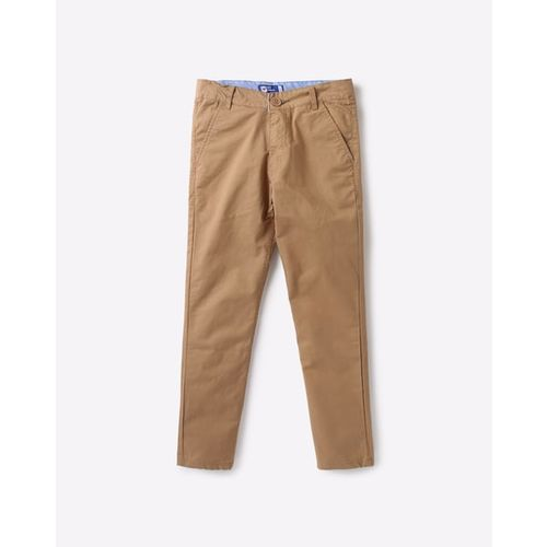 612 League Mid-Rise Flat-Front Trousers